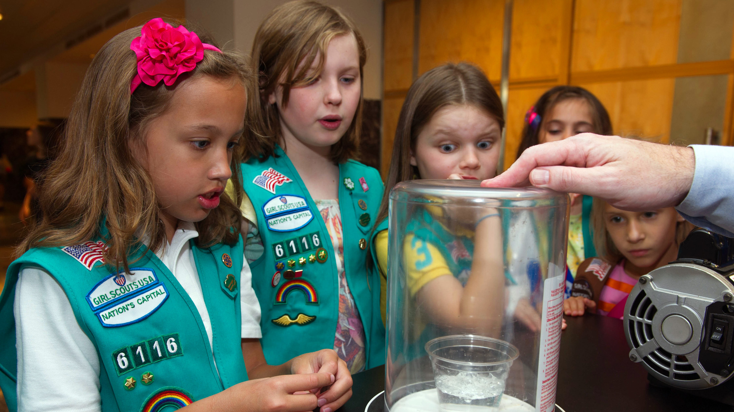 Support a Girl Scout; don't buy cookies.