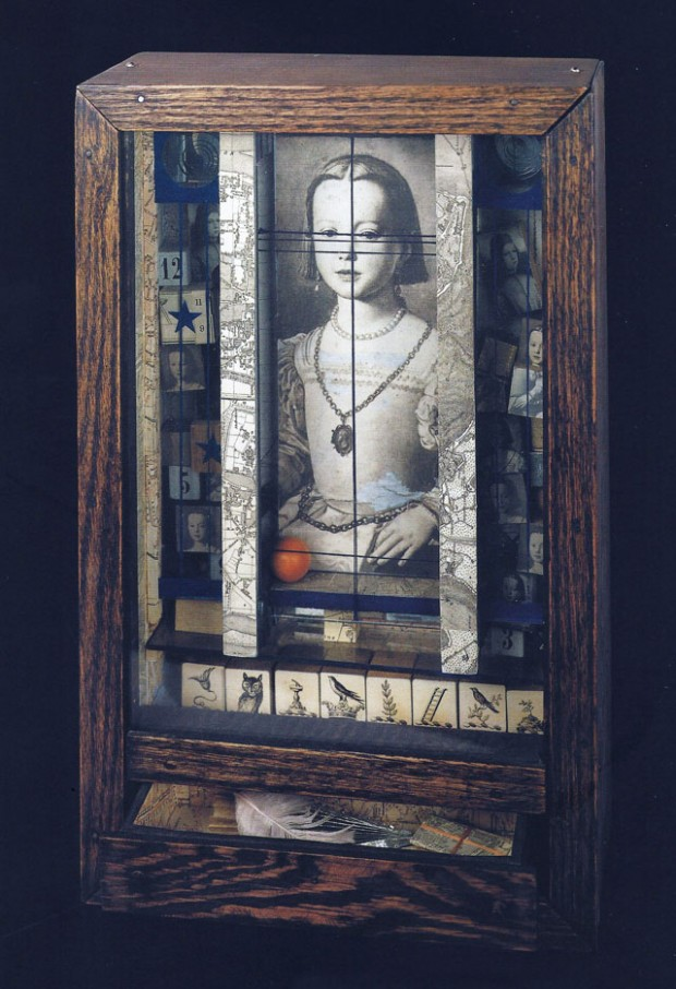 Medici Princess, 1948, box construction by Joseph Cornell