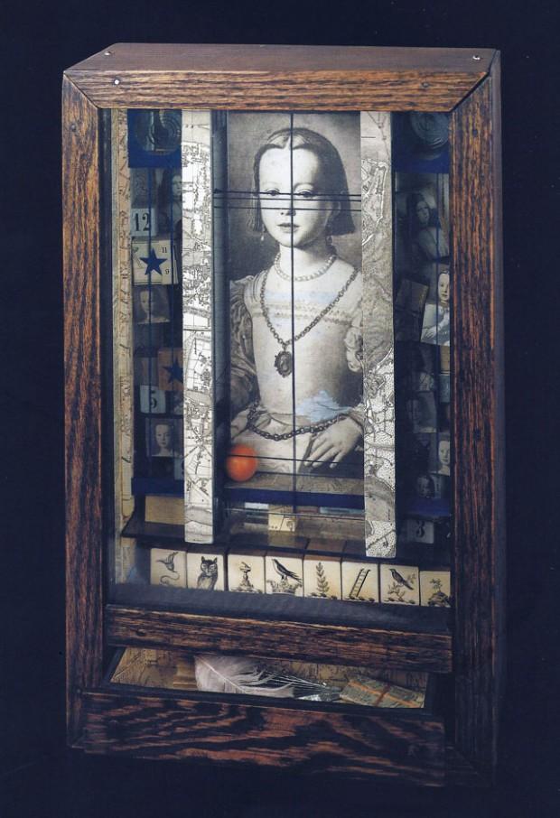 Medici Princess, 1948, box construction by Joseph Cornell