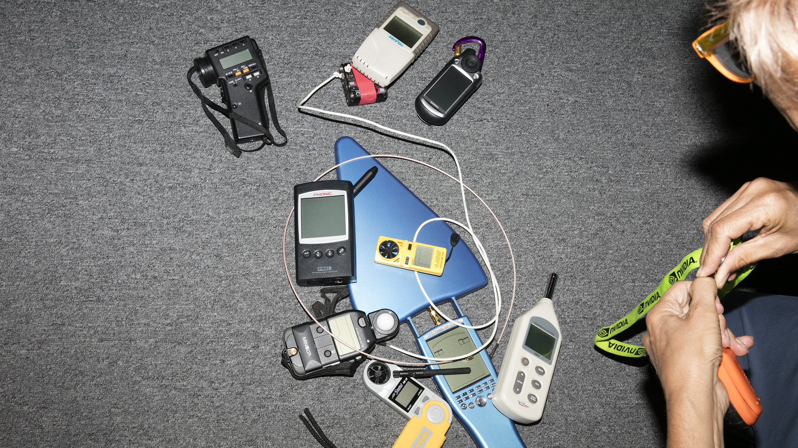 My collection of sensors circa 2007