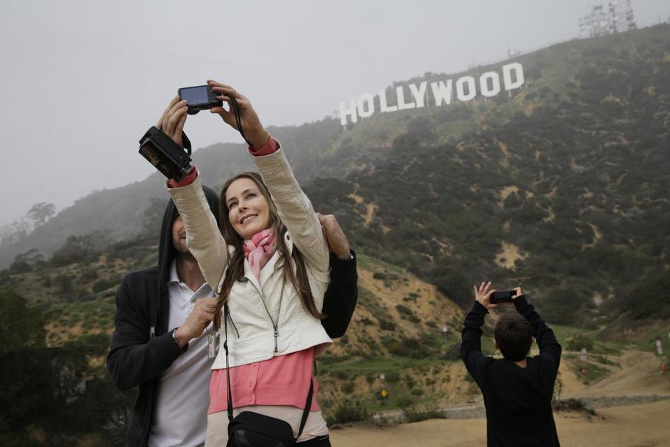 Tiffany Overlook selfie