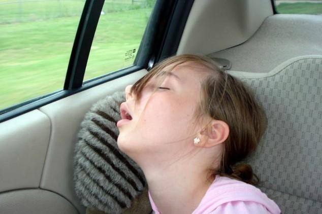 Rebecca asleep