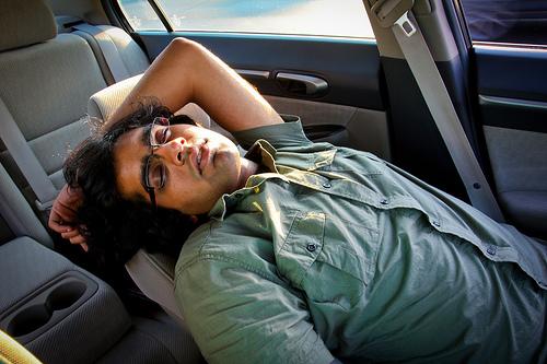 Kamal asleep