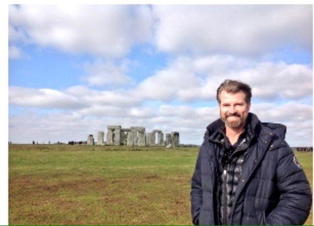Jon Gary Steele at Stonehenge