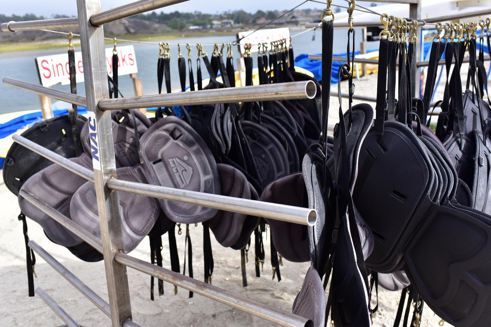 kayak seat backs