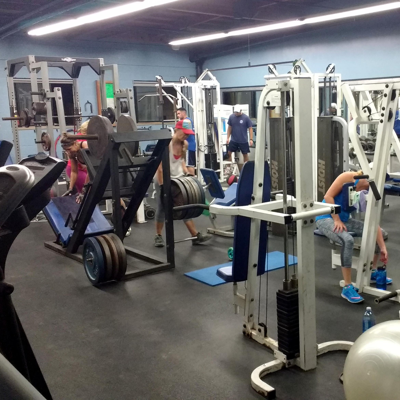 Newport Aquatic Center weight room
