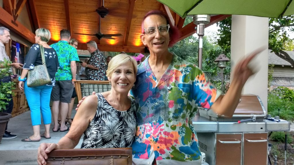 Photo of Linda Hamm Conte & Glenn Zucman. Photo by Tanya Ericson