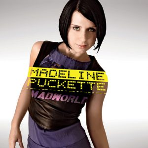 "cover of Madeline Puckette's album ""Madworld"""