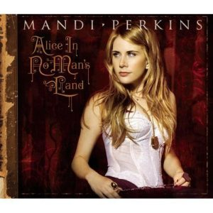 "cover of Mandi Perkins' album ""Alice in No Man's Land"""