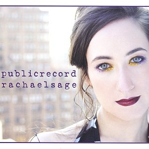 "Cover of Rachael Sage's album ""Public Record"""