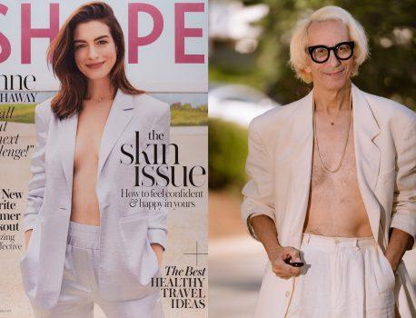 Anne Hathaway, Shape, 2019
