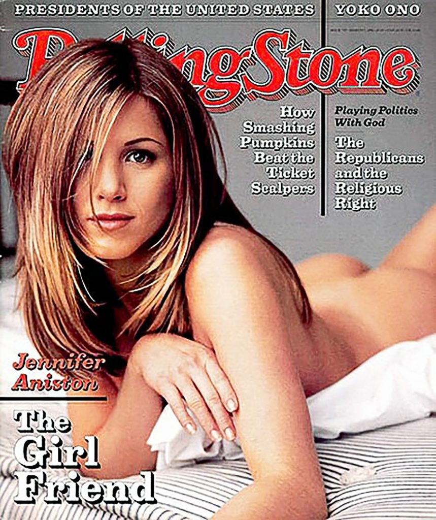 Jennifer Aniston, photographed by Mark Seliger for Rolling Stone.