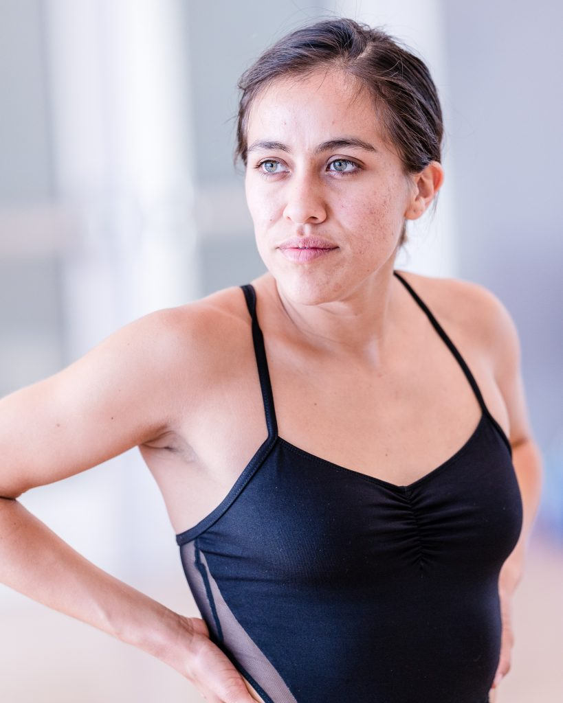 SMC Student Choreographer Julisa Figueroa Rehearses A New Work For Synapse Dance Theater In SMC's Core Performance Center On April 25, 2019. Synapse Dance Theater Will Be Performed On The Broad Stage At SMC's Performing Arts Center On Friday And Saturday, May 24 And 25. (Glenn Zucman/The Corsair)