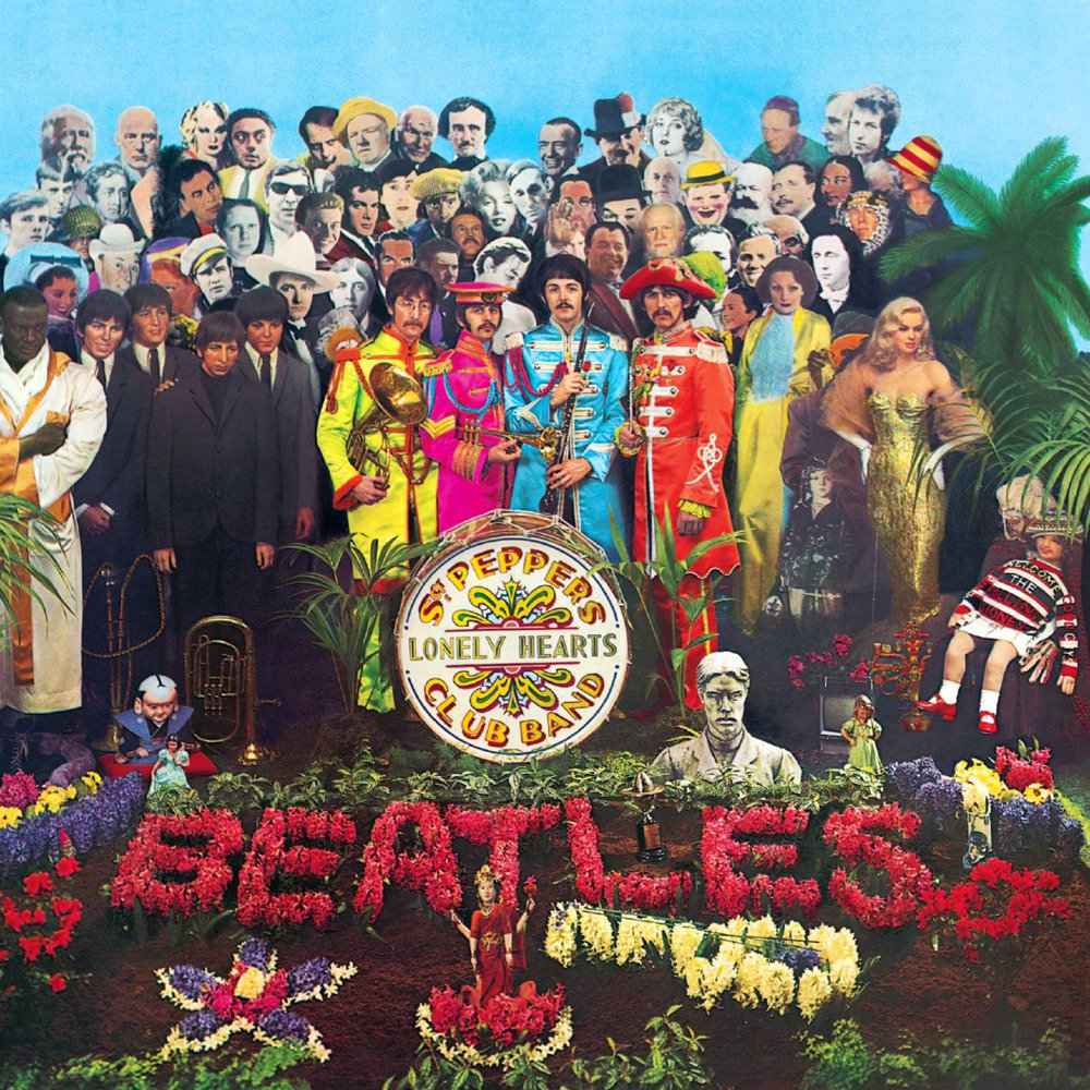 "Cover of ""Sgt. Pepper"" album by The Beatles"