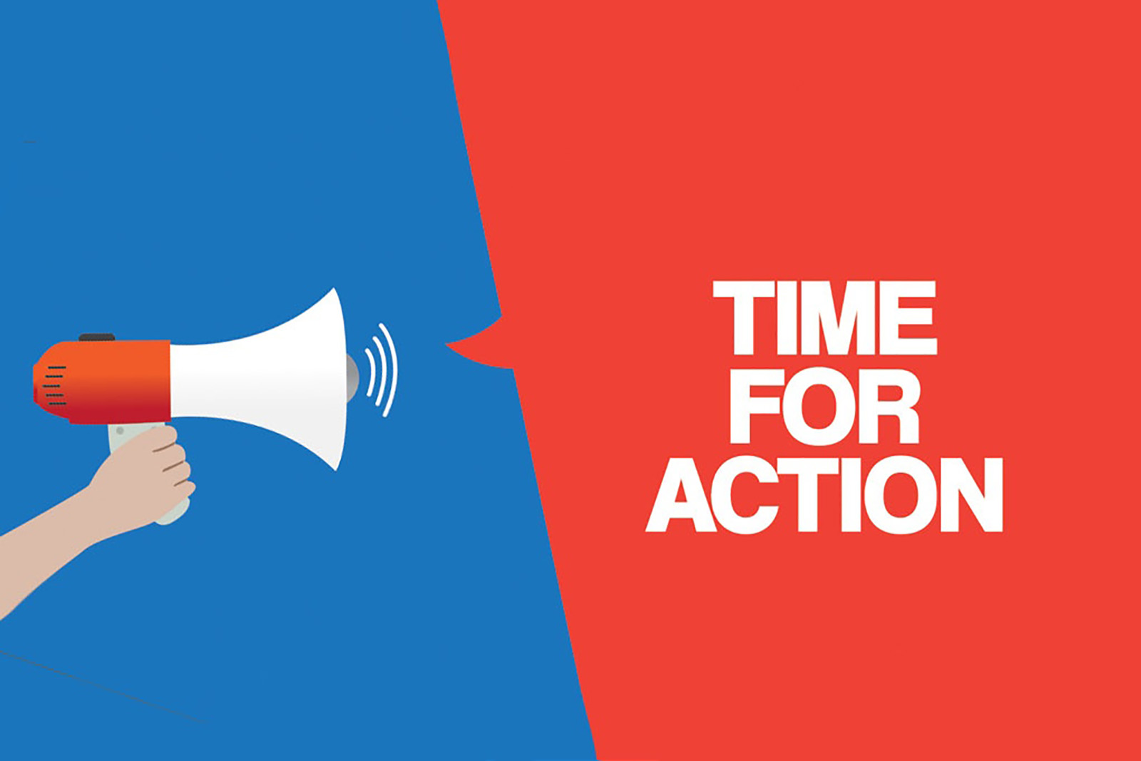 "red and blue graphic with the text ""call to action"""