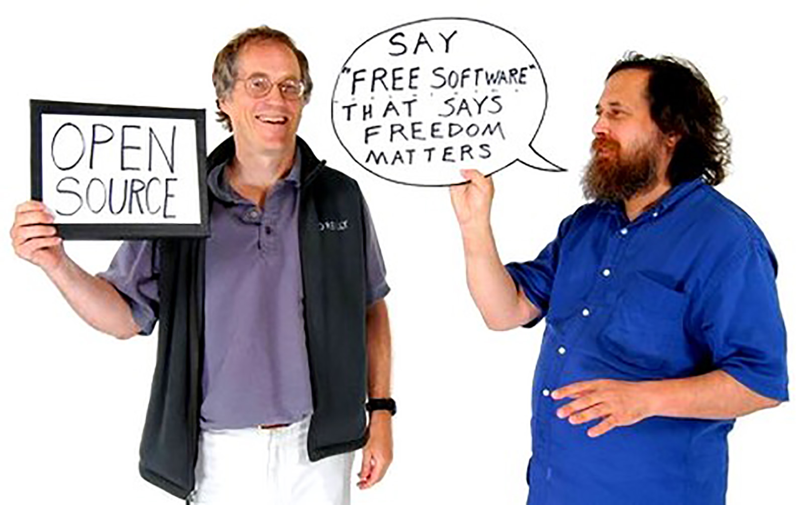 Tim O'Reilly & Richard Stallman