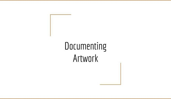 Documenting 2D Artwork