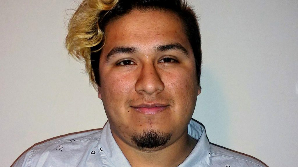 Portrait of artist Mauricio Bustamante
